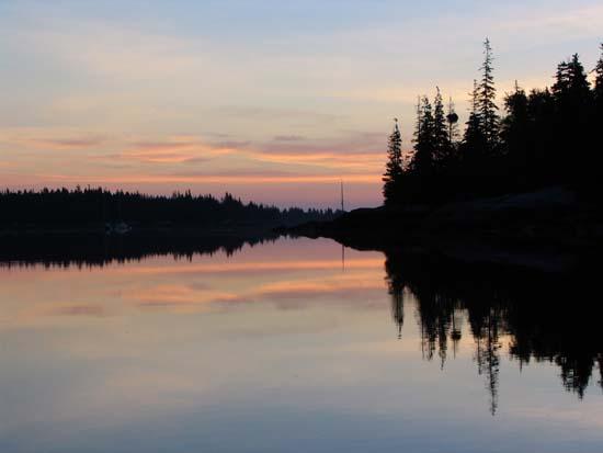 Sunset Seal bay