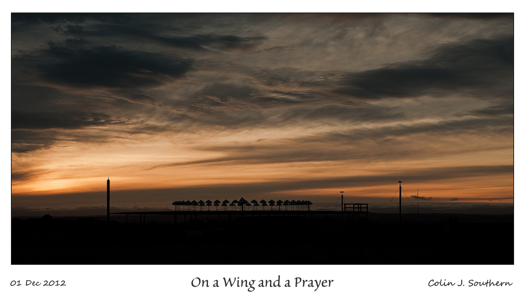 On a Wing & a Prayer