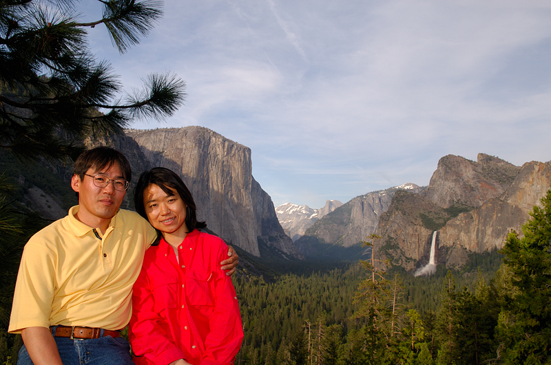 At Tunnel View