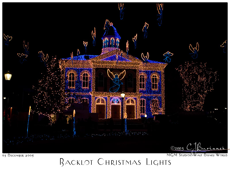 Backlot Christmas Lights - 8301 03Dec05