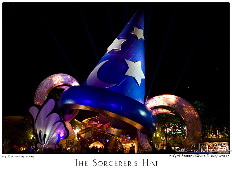 The Sorcerers Hat - 8295 03Dec05