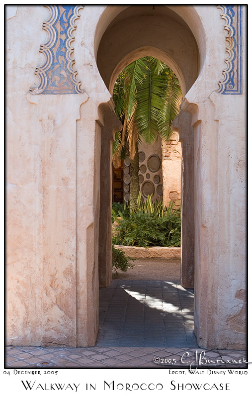 Walkway in Morocco Showcase - 8336 04Dec05