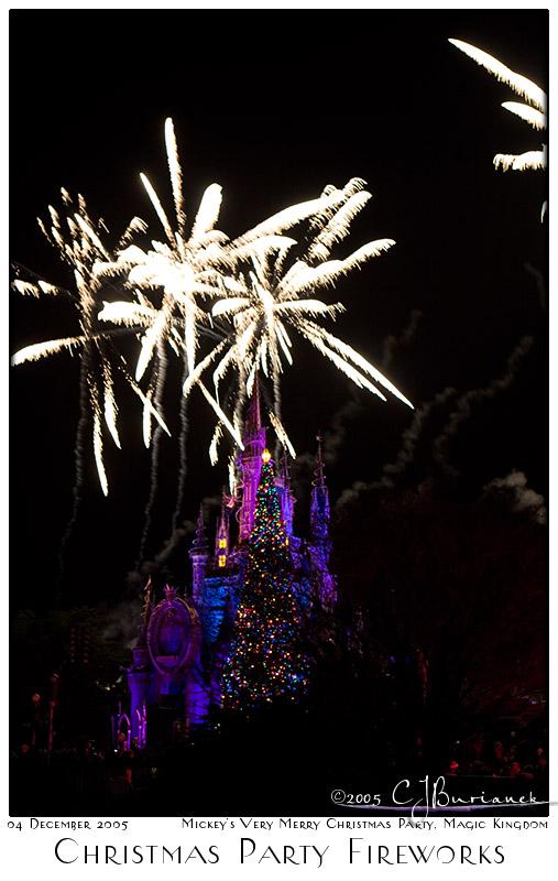 Christmas Party Fireworks - 8424 04Dec05