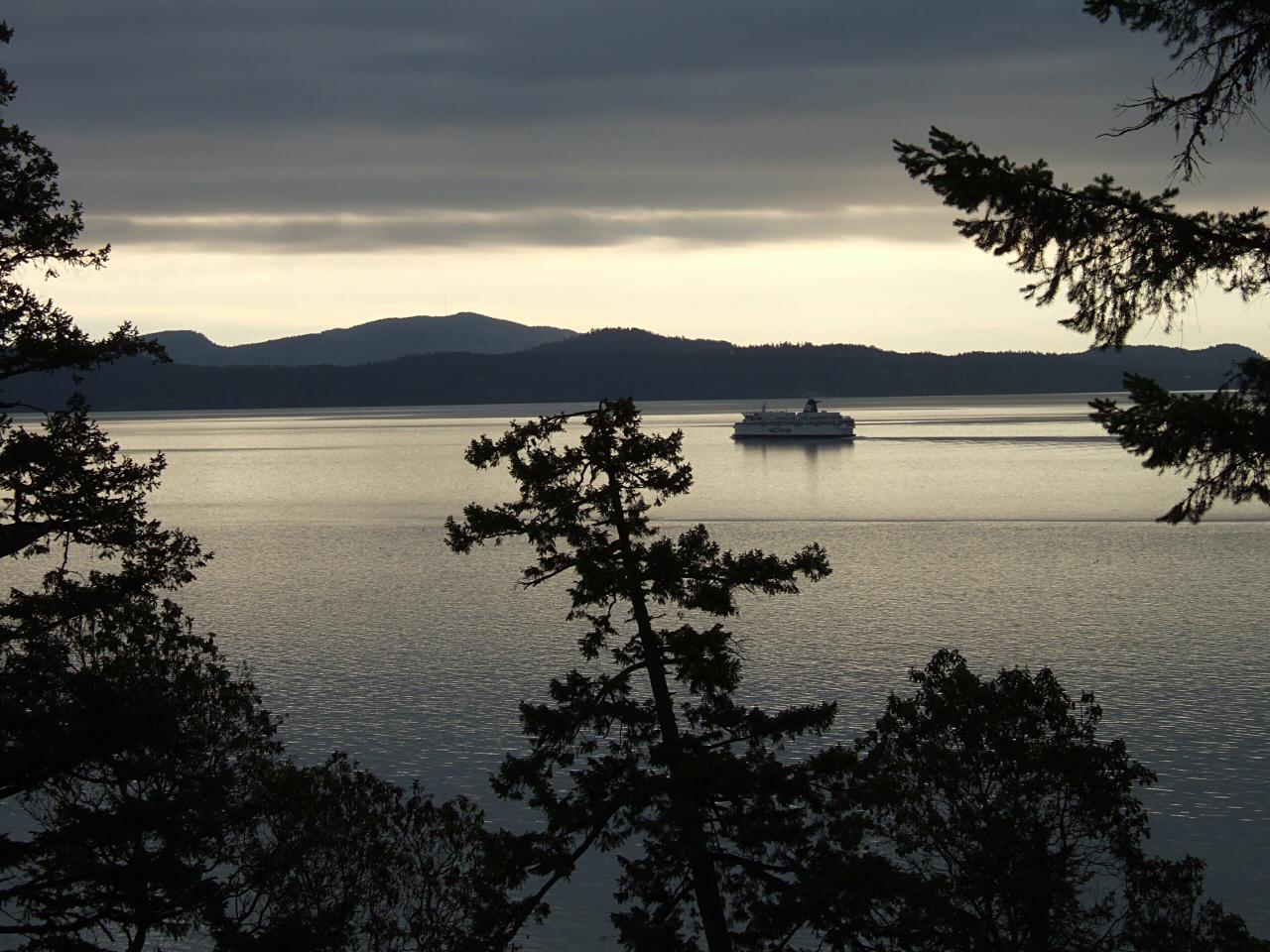 Morning ferry
