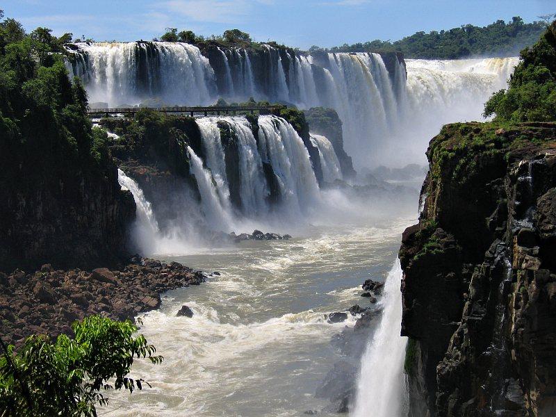 Iguazu From Isla San Martin Photo Alan Grant Photos At Pbase Com