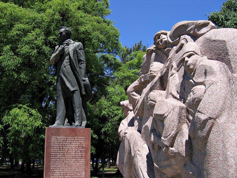 Monument to Taras Shevchenko, Palermo