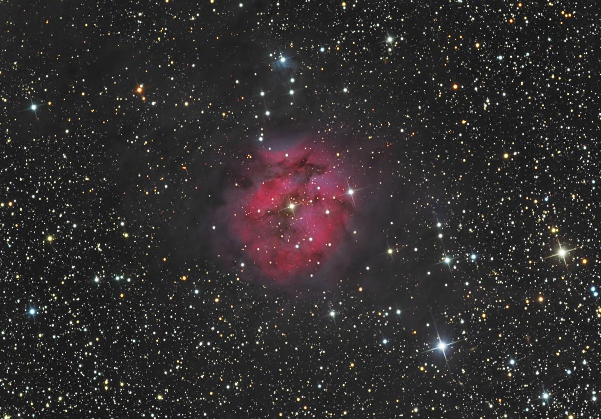 Cocoon Nebula, IC5146 Cropped