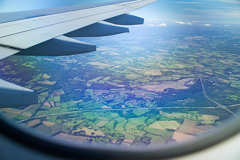Over England by Flick Merauld