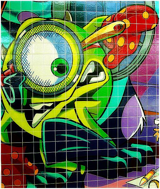 Modern Murals of Azulejos (Glazed Tiles)