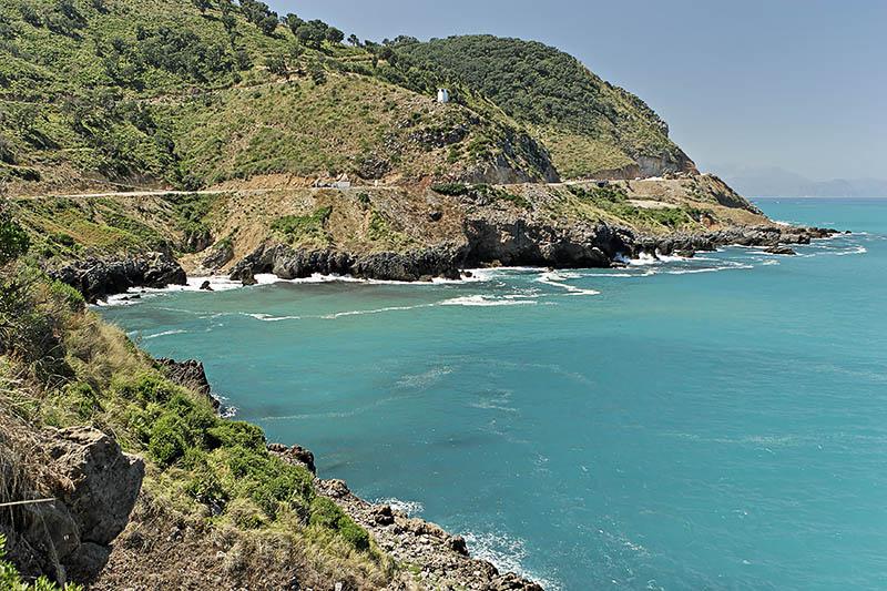 Route Bejaïa - Jijel
