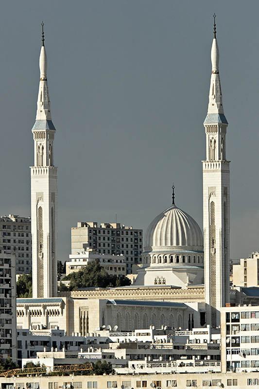 Les minarets de 107m