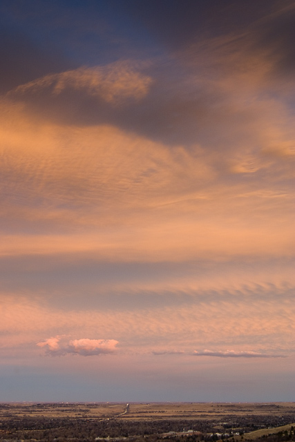 a sky full of drama