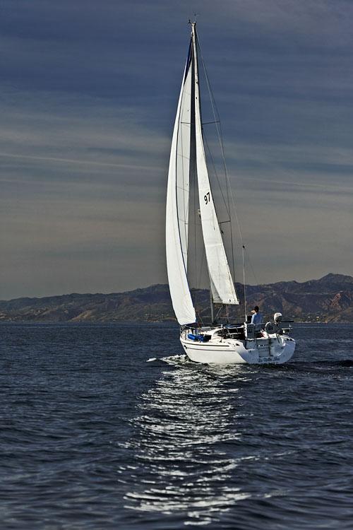 Santa Monica Bay boating
