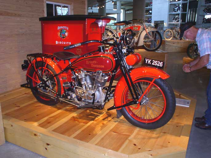 Harley 3 wheel delivery