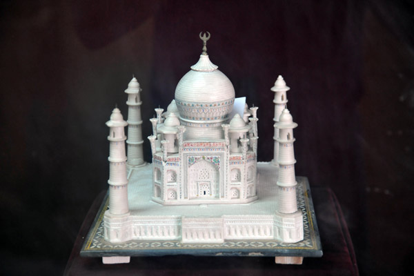 Model of the Taj Mahal