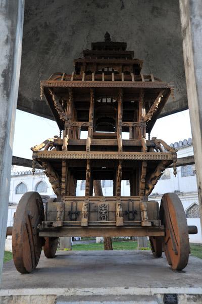 Wooden Chariot - Jetaprolu Samsthan - 17th C.