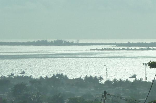 Ilha do Mussulo off the coast of Luanda Sul (South Luanda)