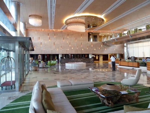 Lobby, HCTA - Hotel de Convenções de Talaton
