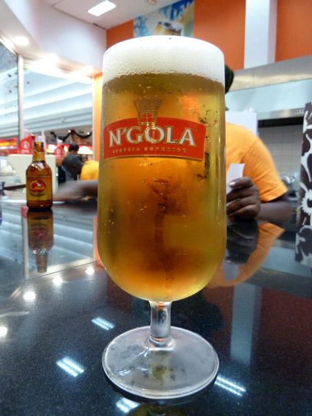 Ngola - the beer of Angola