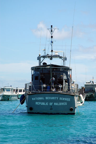 National Security Service boat, Male