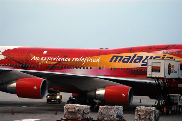 Malasian B747 An experience redefined