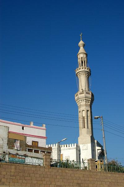 Minaret on the Isna riverfront