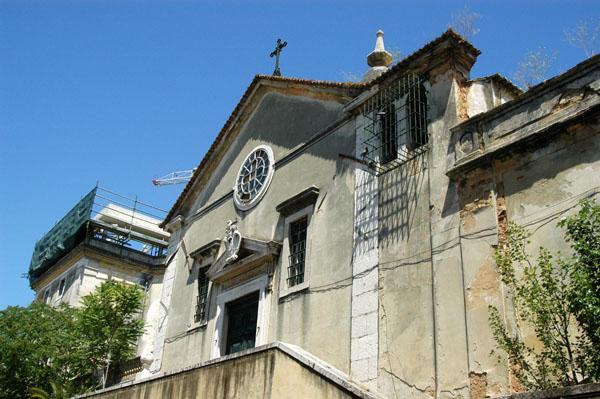 Church on Travessa dos Inglesinhos, Barrio Alto