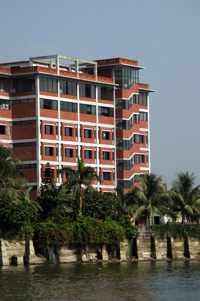 Riverside factory outside Dhaka