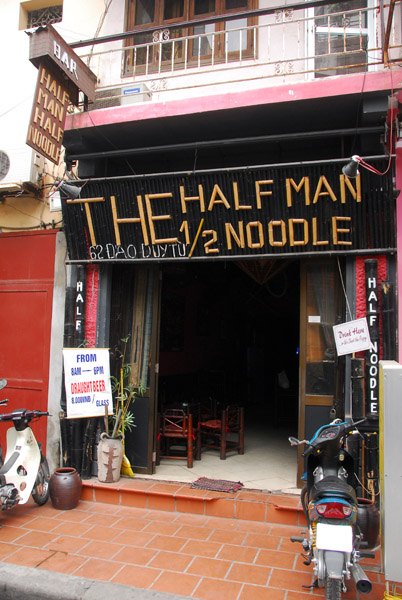 Half Man Half Noodle, old quarter bar