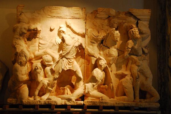 Frieze of the Parthian Monument, ca 170 AD, Ephesus Museum