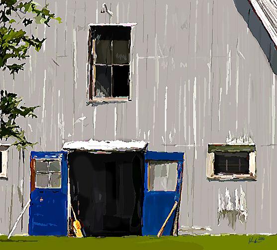 blue door 8x8