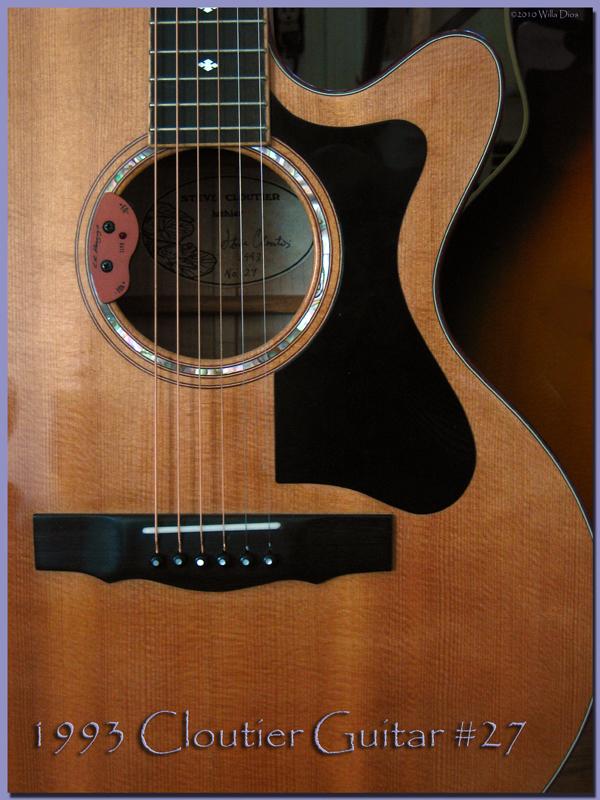 1993 Cloutier Guitar #27