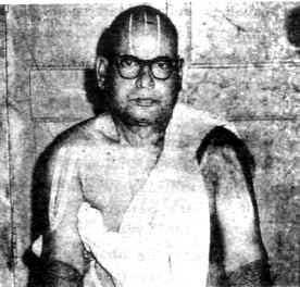 U.V e Sri Thirukkallam Narasimharaghavachariar Swami