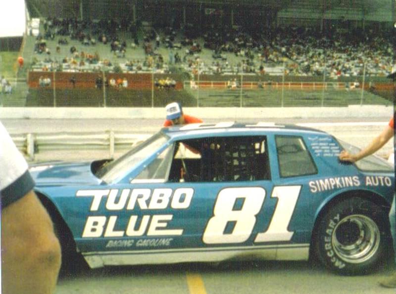 Bobby Allison Tubro Blue 81