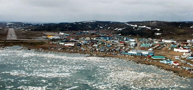 Downtown Iqaluit (CYFB), Iqaluit, Canada