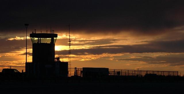 churchill Airport at 11pm