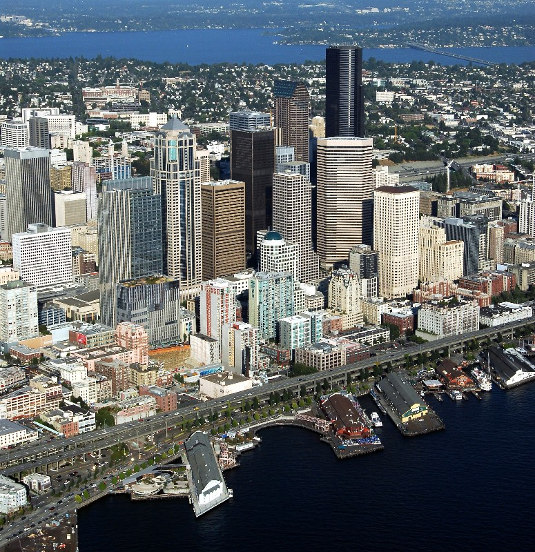 tall buildings Seattle