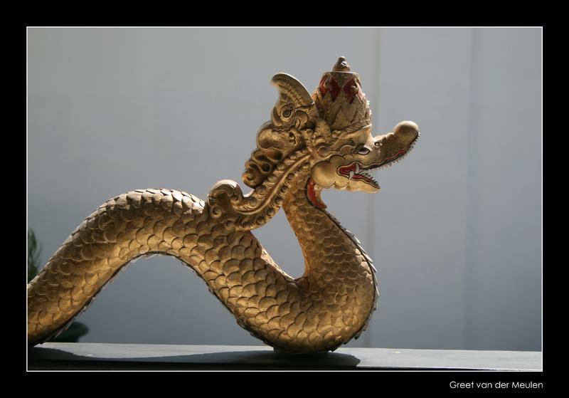 3652 Indonesia, dragon in sultanic palace Yogjakarta