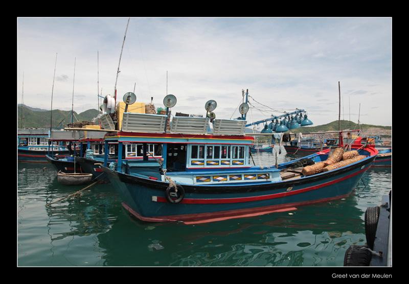 9662 Vietnam, Nha Trang boats