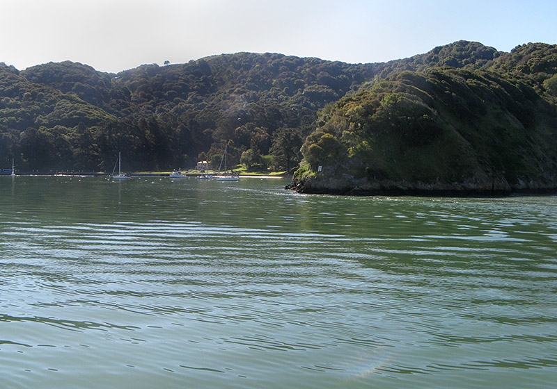 Angel Island already..  Its just a 10-minute ride, tops