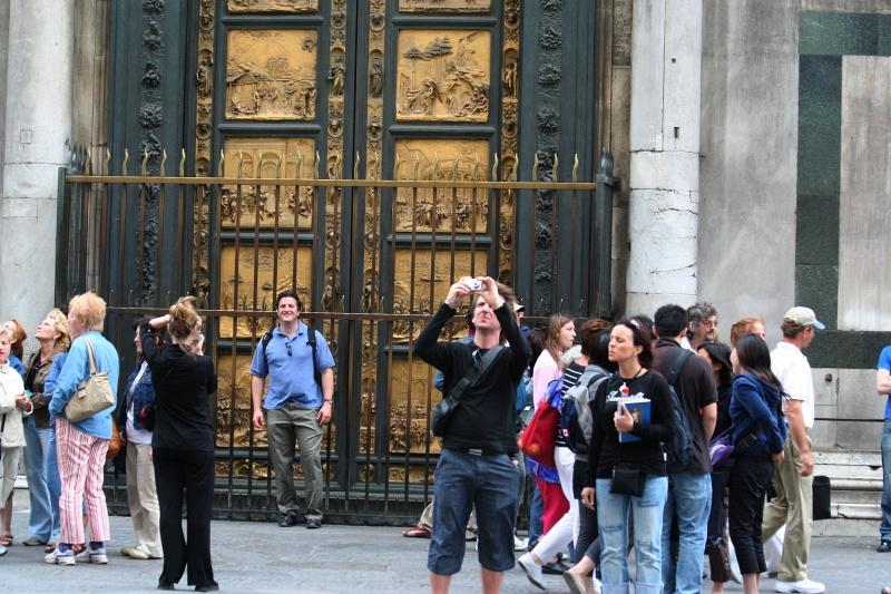 Ghibertis East doors, dubbed Gates of Paradise by Michelangelo