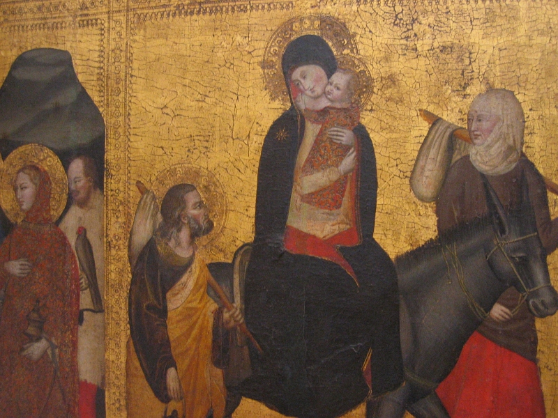 Can anyone from Florence identify the artist?  Its on the label at San Marco.