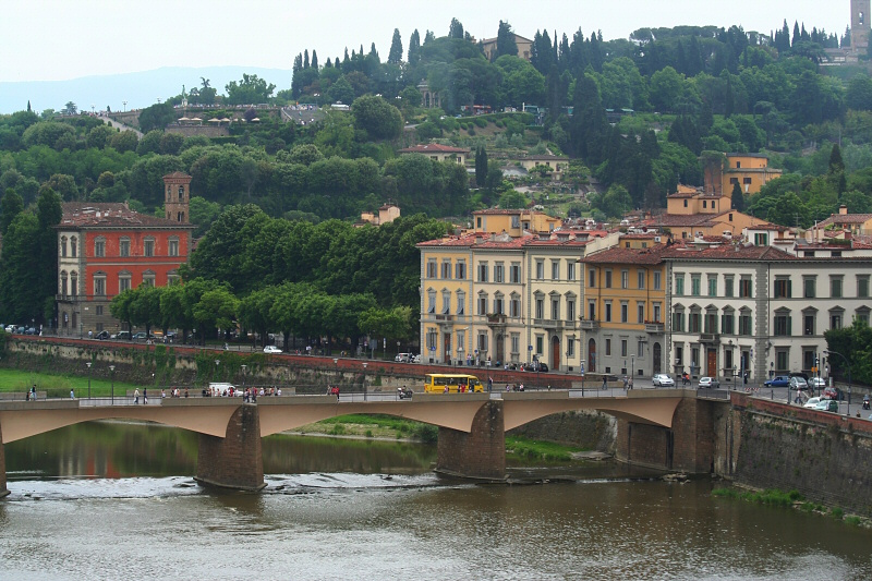From Uffizi, but to the left