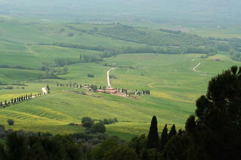 Pienza countryside
