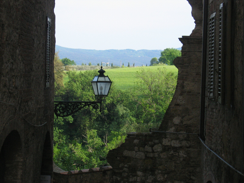 A view off the main street