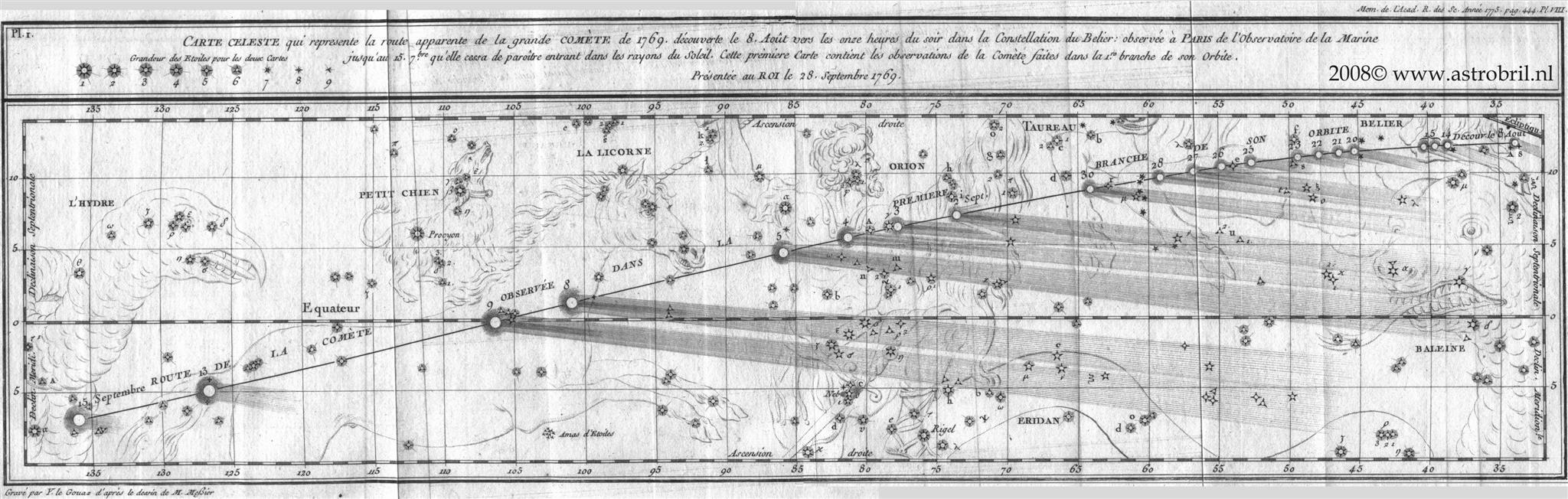 Comet C/1769 P1 (Messier) - I