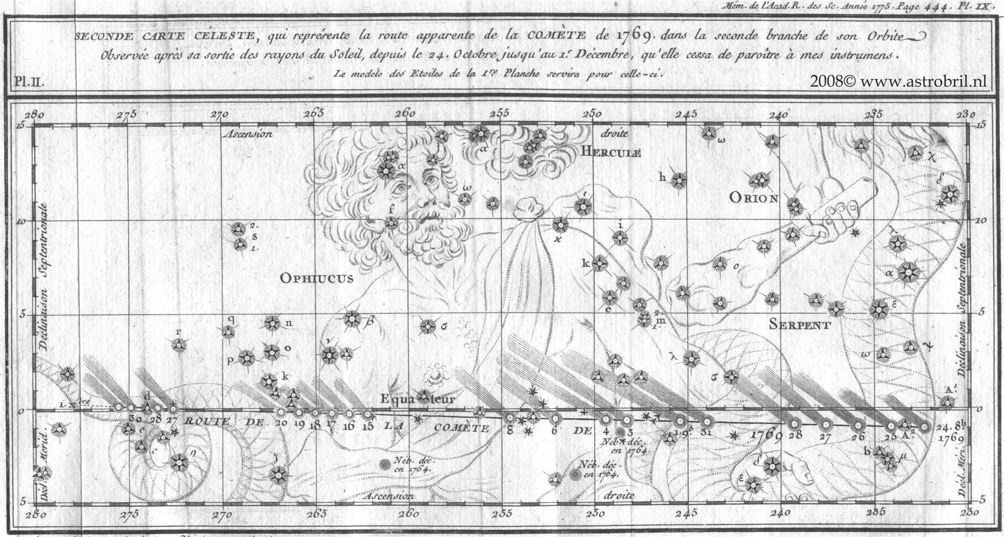 Comet C/1769 P1 (Messier) - II