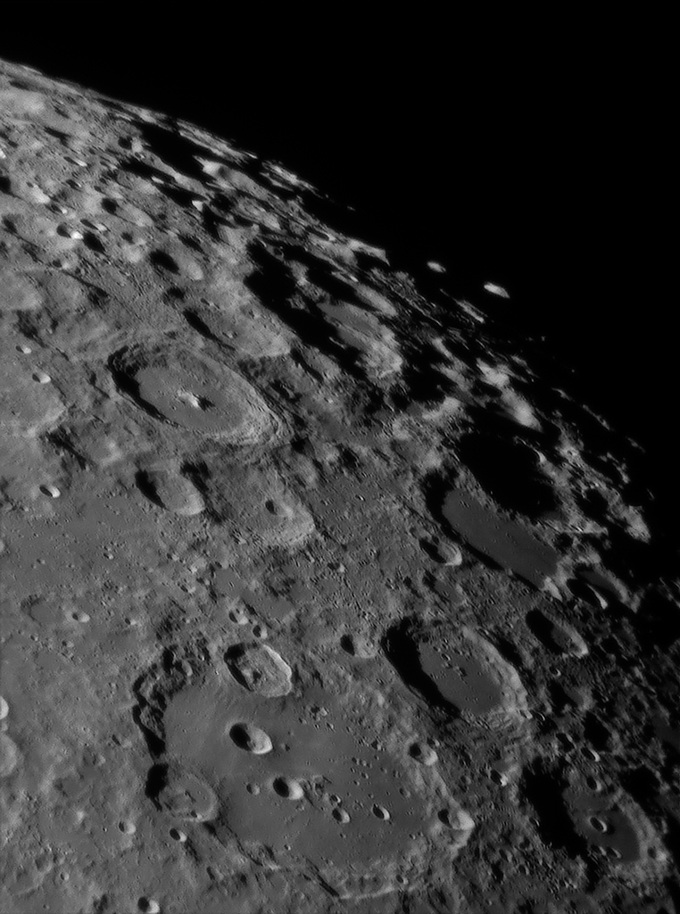Clavius To The South Mountains