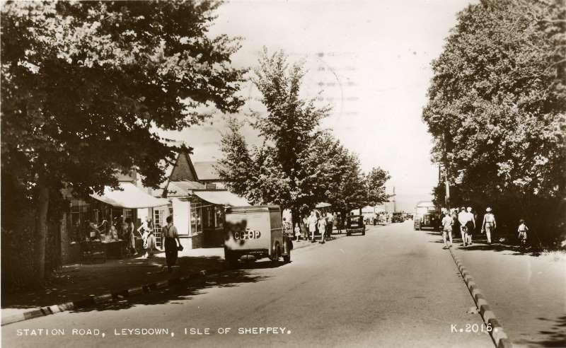 Station Road, 1952