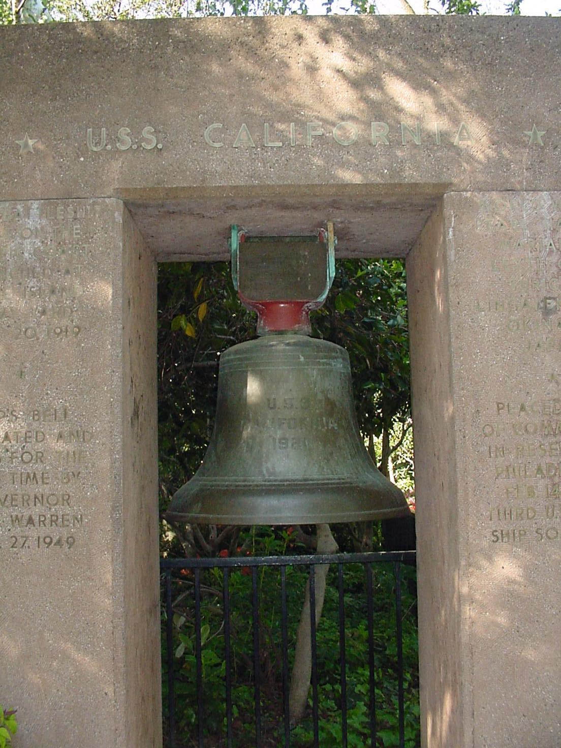 Bell - U.S.S. California